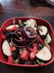 Tossed Salad Side at Mtn Rest Cafe