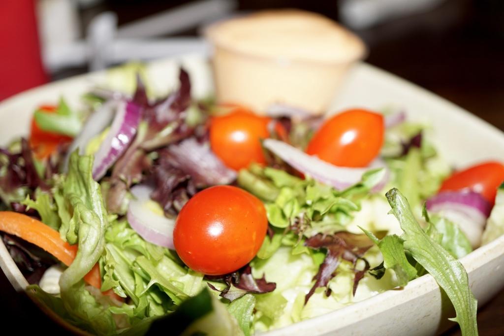Fresh Garden Salad at Mountain Rest Cafe in Mountain Rest, SC